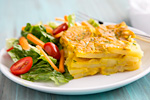 Thumbnail image for Vegan Scalloped Potatoes with Chickpea Cheese Sauce