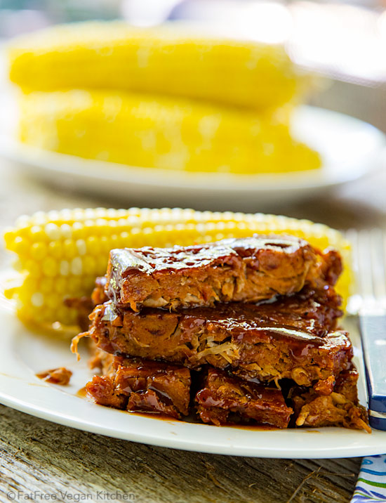 Jacked-Up Vegan Ribs