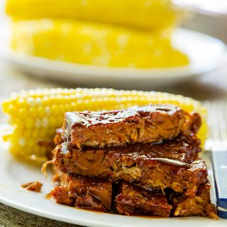 Jacked Up Vegan Ribs