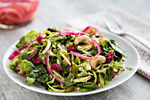 Thumbnail image for Shredded Brussels Sprouts Salad with Dried Cranberries and Cashews