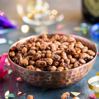 Crispy Air Fried Black-Eyed Peas