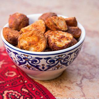 Crispy Fat-Free Spanish Potatoes