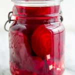 Roasted Pickled Beets with Ginger