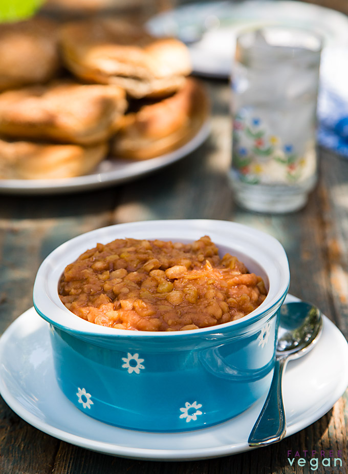Hawaiian baked beans in the instant pot recipe from fatfree vegan hawaiian baked beans in the instant pot forumfinder Image collections