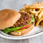 Simple Black Bean Burger
