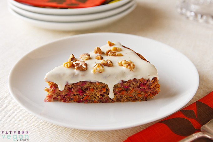 Cranberry-Carrot Cake from Vegan Holiday Kitchen