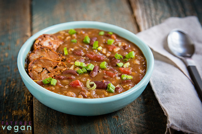 Instant Pot Red Beans and Rice Soup