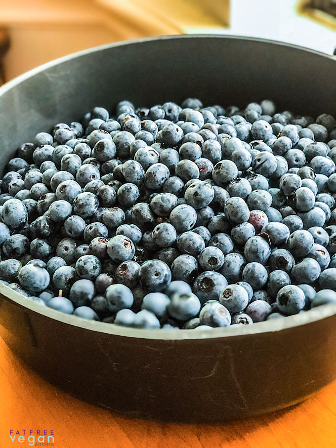 Fresh-picked Blueberries