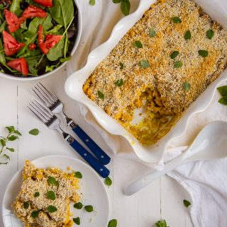 Vegan Roasted Cauliflower Macaroni and Cheese