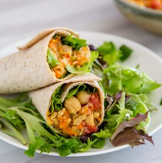 Easy Chickpea Salad Sandwich Filling