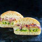 Air Fried Artichoke Heart Sandwiches