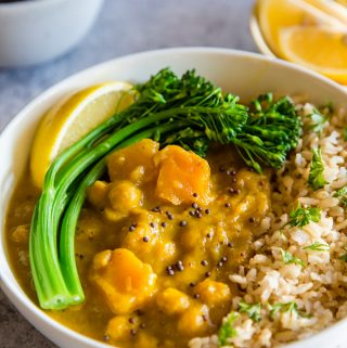 Vegan Butternut Squash Curry