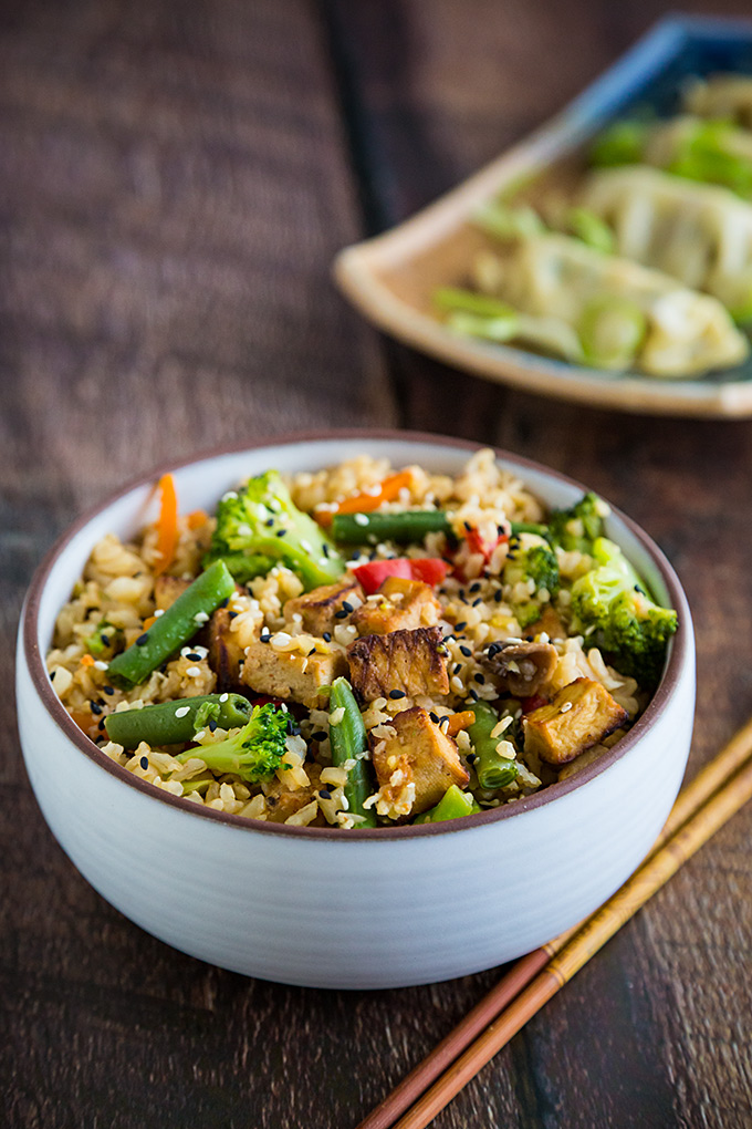 Ridiculously Easy Vegetable Fried Rice Fatfree Vegan Kitchen