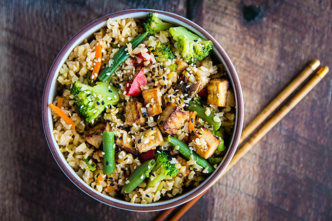 Ridiculously Easy Vegetable Fried Rice.
