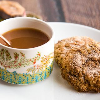 Vegan Snickerdoodle Cookies - Soft, Chewy, Oil-Free