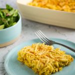 Vegan Scalloped Hash Browns Casserole
